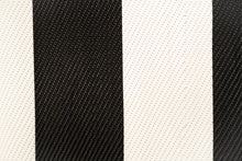 Load image into Gallery viewer, Outdoor Rug - Bold Yet Elegant Black and White Stripe