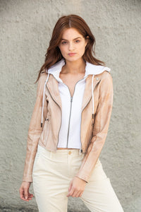 Molly Patina Leather Jacket