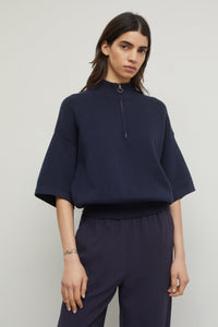 Stand Up Collar Sweater