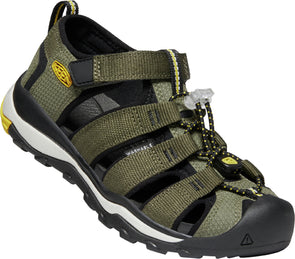 Keen Newport neo Children Dusty olive/sulphur
