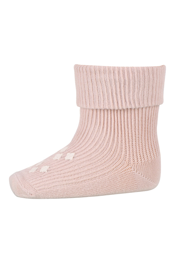MP 57024 / 853 Cotton rib Lima rose dust