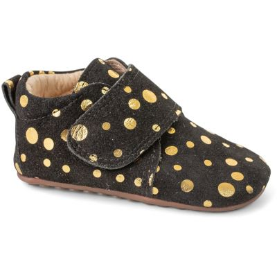 Pompom 14010 Black gold dot