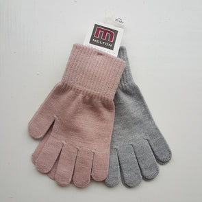 Melton 5841 Grey/Pink 10-14y 2-pack