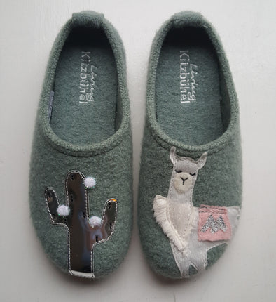 Living Kitzbühel 3626 slipper lama and cactus laurel 416
