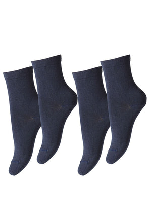 MP 7971 - 142 Ancle sock plain 2-pack
