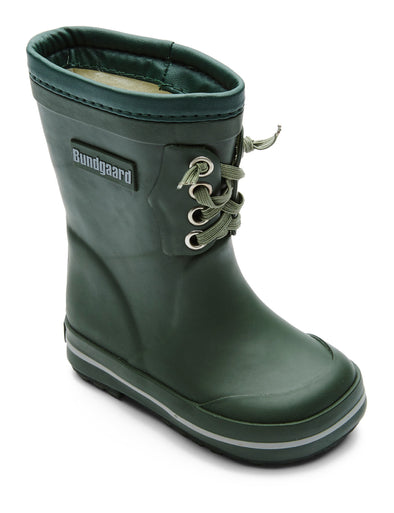 Bundgaard Rubber boot w/ warm lining Green