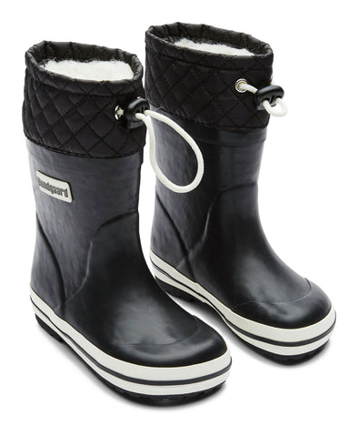 Bundgaard Sailor rubber boot warm Black