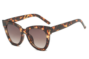 Women's Cat Eye Sunglasses - Tortoise