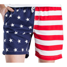 Men's Patriotic American Flag Board Swim Shorts
