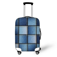 Jean Fabric Print Suitcase Cover