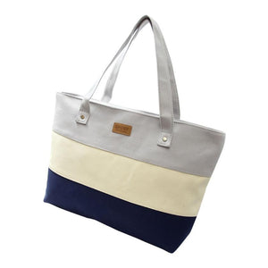 Women's Casual Beach Tote - Gray