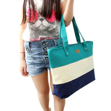 Women's carrying Casual Green Beach Tote