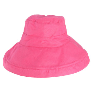 Women's Foldable Cotton Bucket Hat