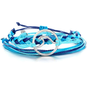 Blue Wave Bracelet - Beach Jewelry