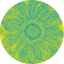 Summer Sunflower Round Beach Towel - Yellow Green