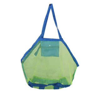 Foldable Mesh Beach Bag for Kids Toys