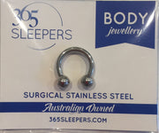 1 Piece 316L Surgical Stainless Steel 20G - 2G Circular Barbell - PFGWholesale
