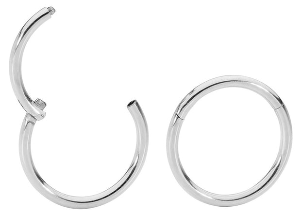 1 Pair Stainless Steel Sleeper Earrings - 14G | Body Jewellery | PFG Wholesale