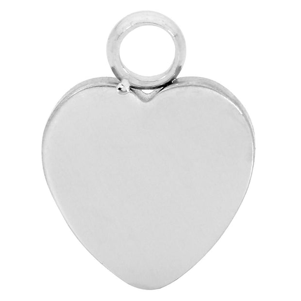 365 Sleepers 1 Piece Stainless Steel Heart Charm Hinged Segment Ring - 18G | Body Jewellery | PFG Wholesale