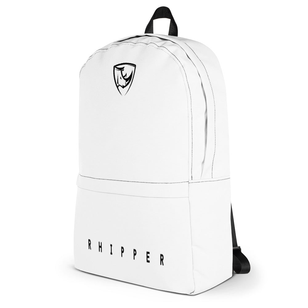 White Backpack