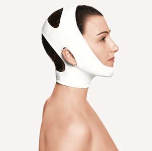 Compression reinforced facial chin - neck Garment - Plasmetics healthcare