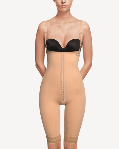 ART 3004 Girdle with abdominal extension above the knee