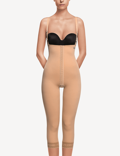 ART 3009 Girdle with abdominal extension below the knee