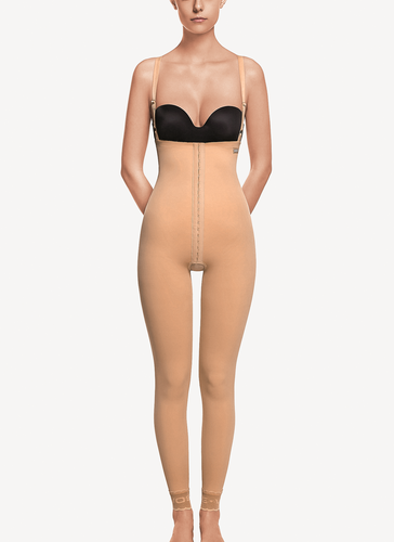 ART 3012 Girdle ankle length with abdominal extension.