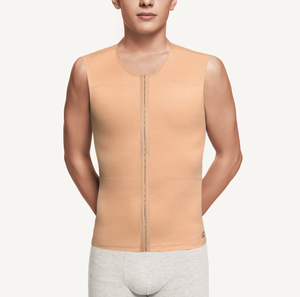 Male sleeveless vest with front closure - Plasmetics healthcare