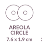 Load image into Gallery viewer, Areola Circle - Plasmetics healthcare