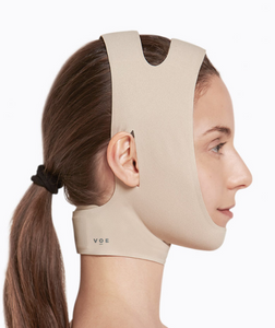 Seamless Facial-Chin Neck Garment