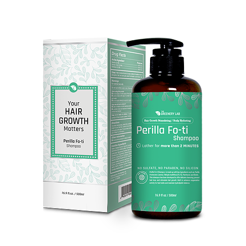 The Greenery Lab Hair Growth & Thickening Perilla Fo-ti Shampoo (16.9 oz.)