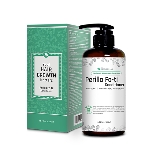 The Greenery Lab Hair Growth & Thickening Perilla Fo-ti Conditioner (16.9 oz.)