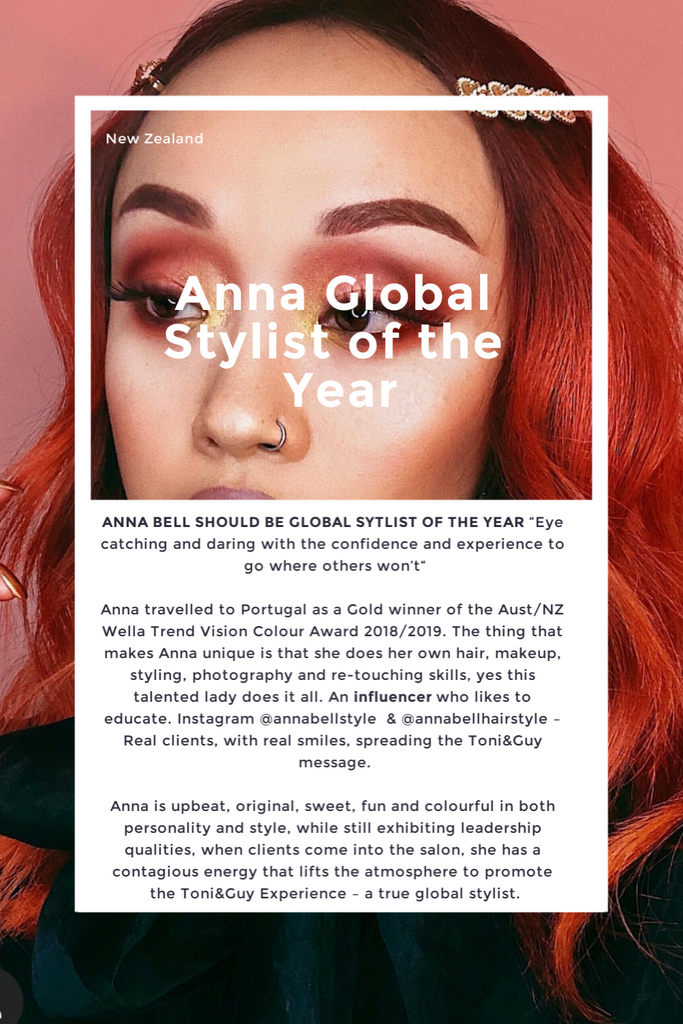 Anna Toni & Guy Stylist of the Year 2019
