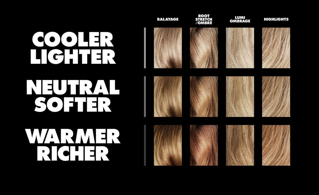 TONI & GUY COLOUR SWATCHES