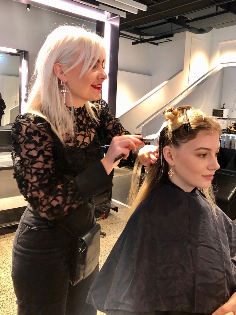 Jess at Toni & Guy