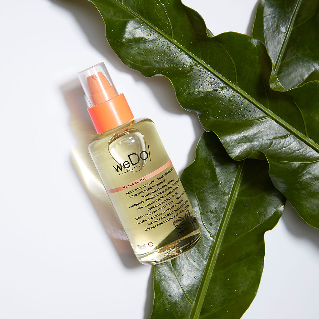 weDo eco ethical natural hair oil image
