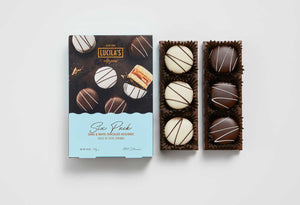 Mini Alfajores 6 Pack - Dark & White Chocolate
