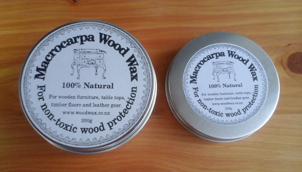 Macrocarpa Woodwax Tin