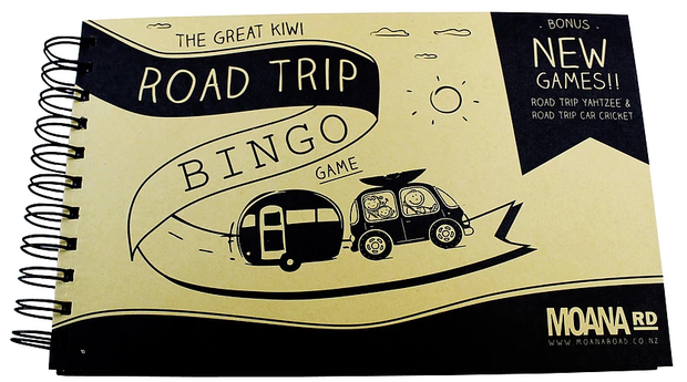 The Great Kiwi Road Trip Bingo Game