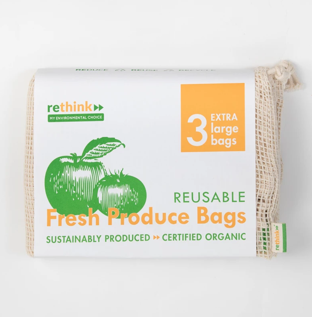 Rethink Fresh Produce Bag XL (3 pack)