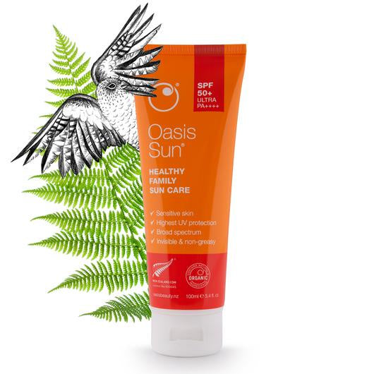 Oasis Sun SPF 50+ Ultra Protection Sunscreen (100ml)