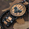 Image of Luxury Wooden Chronograph Watch