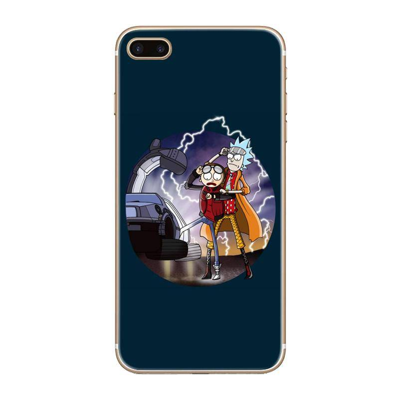 "Rick and Morty ""Back to the Future"" Case"