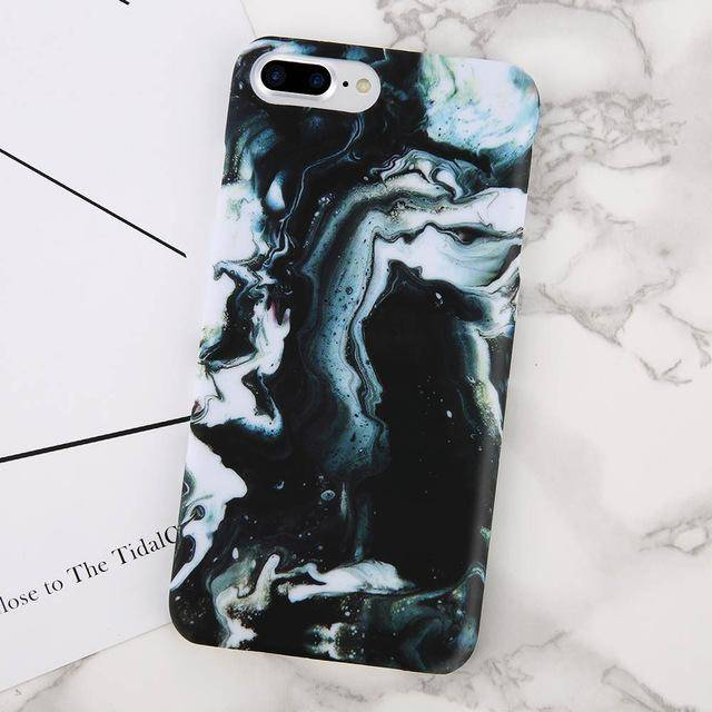 Marble Design Case (Green)