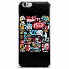 Rick & Morty Best Quotes Case