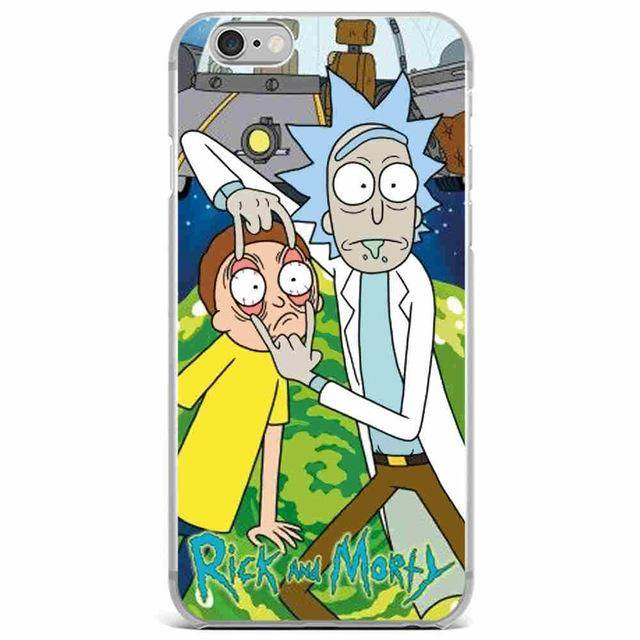 "Rick & Morty ""Peeled Eyes"" Case"