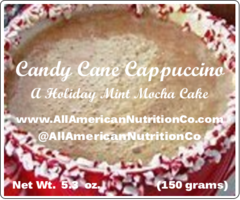 Candy Cane Cappuccino Cake (ONLY AVAILABLE SEASONALLY)