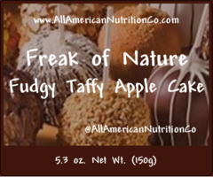 Freak of Nature (Fudgy Taffy Apple Cake)