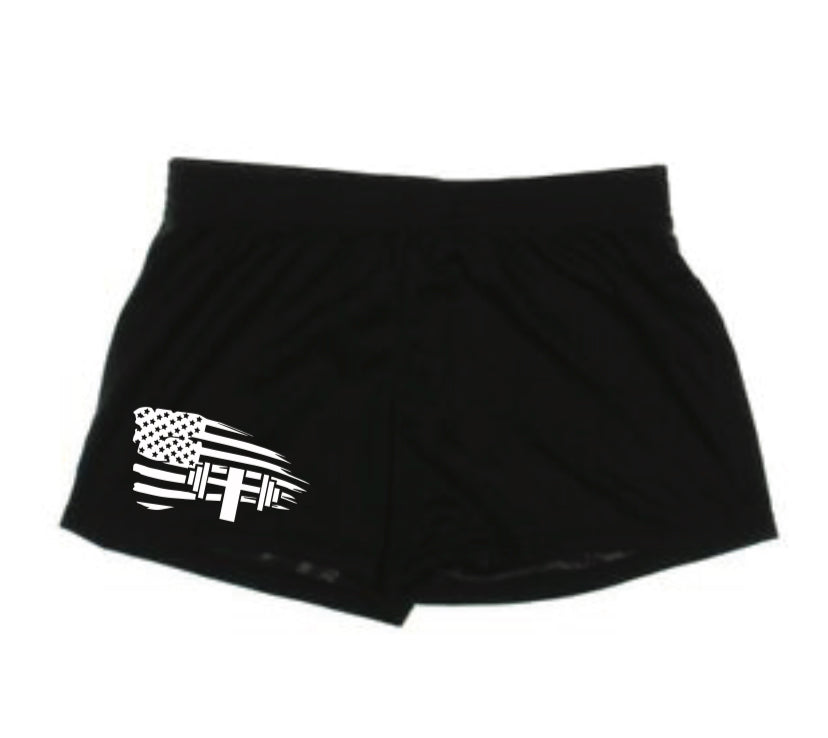 x GET SOME ACTIVE WEAR Women's Compression Shorts